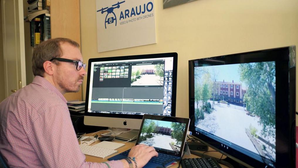 empresa de video con drones