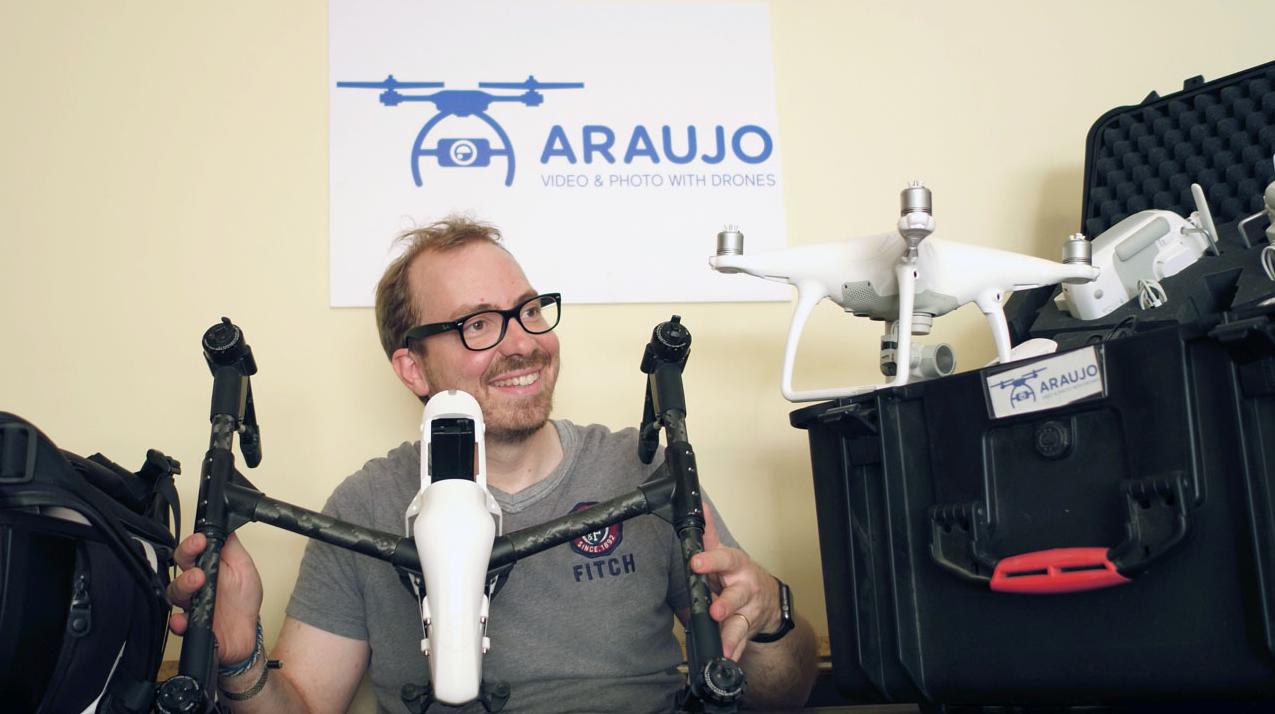 empresa de vídeo con drones