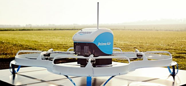 primer reparto con drones